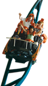 Flamingo Land Header Rollercoaster